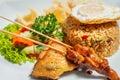 Nasi Goreng, Traditional Indonesian food. Royalty Free Stock Photo