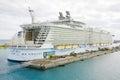 NASSAU, BAHAMAS Royal Caribbean, Allure of the Seas Royalty Free Stock Images