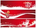 Natal e ano novo Imagem de Stock Royalty Free
