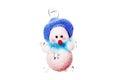 Natale toy snowman Fotografia Stock