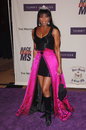 Natalie cole singer at the th annual race to erase ms gala themed rock royalty to erase ms at the century plaza hotel april Stock Photos