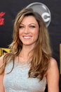 Natalie zea american music awards nokia theater los angeles ca november Stock Image