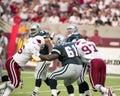 Nate Newton, Dallas Cowboys Offensive Lineman Royalty Free Stock Photo