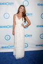 Nathalia Ramos arrives at the 4th Annual Night of Generosity Gala Event Stock Photography