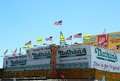Nathan's famous restaurant is reopen for business nearly seven months after superstorm sandy damage brooklyn new york may Royalty Free Stock Photos