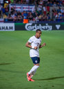 Nathaniel clyne in englands national team under israel Stock Photography