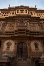 Nathmal Ki Haveli Mansion Front Royalty Free Stock Photos