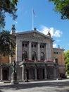 Nationaal Theater, Oslo, Noorwegen Stock Fotografie