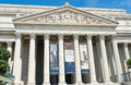 National archives of the united states of america washington dc Royalty Free Stock Photos