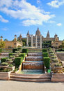 National art museum in barcelona spain Royalty Free Stock Photo