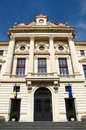 National Bank of Romania Palace Stock Photos