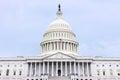 National capitol in washington dc united states landmark Royalty Free Stock Image