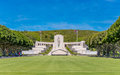 National cemetary of the pacific punchbowl veterans a memorial to honor those men and women who served in united states armed Royalty Free Stock Photography