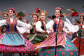 National dance troupe of Poland - Mazowsze Stock Photography