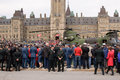 National day of honour ceremony ottawa may chinook helicopter on the lawn parliament for ceremonies in ottawa may Stock Photos
