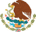 National emblem Mexico Stock Photo