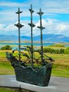National Famine Monument, Westport in Co. Mayo Royalty Free Stock Photo