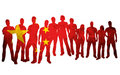National flag china Stock Photo