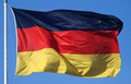 National flag of Germany Royalty Free Stock Photo