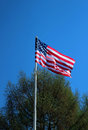 The national flag of the United States of America Royalty Free Stock Photo