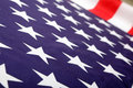National flag of usa shallow dof Royalty Free Stock Photo