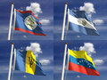 National Flags Stock Photography
