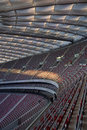 National football stadium in Warsaw Royalty Free Stock Image