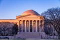 National Gallery of Art West Building at sunset - Washington, D.C., USA Royalty Free Stock Photo