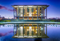 National Library of Australia, Canberra - at dusk