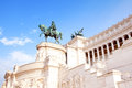 National Monument to Victor Emmanuel, Rome, Italy Royalty Free Stock Photo