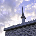 National mosque it's a part of in malaysia the minaret is meters high Stock Photography