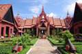 National Museum of Cambodia Royalty Free Stock Photos