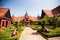 The National Museum of Cambodia (Sala Rachana) Phnom Penh, Cambo Royalty Free Stock Photo