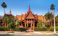 The national museum of cambodia sala rachana phnom penh cambo this is s largest cultural history and is country s leading Stock Photo