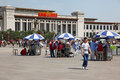 National museum of china on tiananmen square june in beijing is a very popular site more than million visitors every year Royalty Free Stock Photo