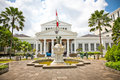 National museum on merdeka square in jakarta indonesia main gate of central java island Royalty Free Stock Photos