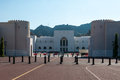 National museum muscat oman view from courtyard for al alam palace of Stock Photos