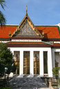 The national musuem in bangkok thailand is taken Royalty Free Stock Photography