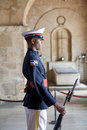 National Pantheon Honor Guard Stock Photo