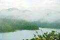 National Park dam Ratchaprapha dam ,Thailand Stock Photo