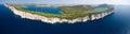 National park Kornati and Telascica Nature park, Croatia Royalty Free Stock Photo