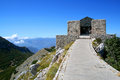 National park of Lovcen Royalty Free Stock Image