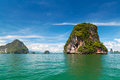 National Park in Phang Nga Bay Royalty Free Stock Image