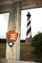 National Park Service Cape Hatteras Royalty Free Stock Photos