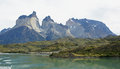 National park Torres del Paine, Chile Stock Images
