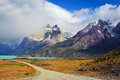 National Park Torres del Paine, Patagonia Royalty Free Stock Photo