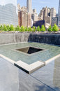 National september memorial new york may nyc s at world trade center ground zero seen on may the is located at the world trade Royalty Free Stock Photo