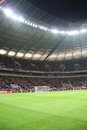National Stadium in Warsaw Stock Images
