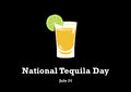 National Tequila Day vector