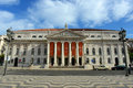 National Theatre Dona Maria II, Lisbon, Portugal Royalty Free Stock Image
